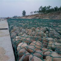 60*80mm镀锌石笼网专业治理河道等水利工程
