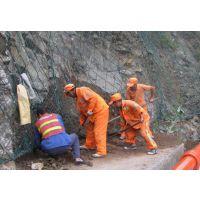 主动边坡网 钢丝绳网 格栅网 河南高边坡防护网处理