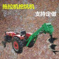 植树挖坑机厂家 大马力打桩挖窝机 8马力水泥杆钻孔机