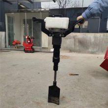 轻便灵活小型铲头式起树机 带土球苗木移植机 合金链条汽油挖树机