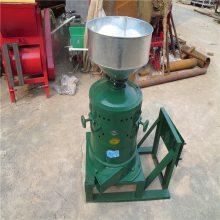 家用小型碾米机 家用电带动的碾米机 润众