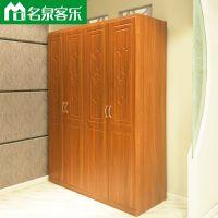 M08四门衣柜简约现代大连板式家具工厂直销
