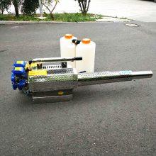 汽油喷药灭虫机价格 水雾烟雾两用机 乐丰牌