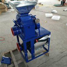 信达热卖家用环保节能去皮磨面机 小麦多功能对辊磨面机