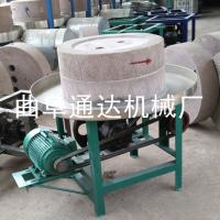 日照 多功能电动豆浆石磨机 生产芝麻酱石磨产品 通达 小磨香油