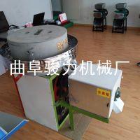 骏力供应 电动面粉石磨机 直径50cm小型家用石磨磨粉机 粮食加工专用设备