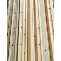烁兴橡塑生产加工高分子聚乙烯塑料垫条 upe导条 大C护栏 蘑菇型衬条