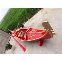 供应湖北武汉3~7米贡多拉船 房产公司装饰船 婚纱摄影道具船