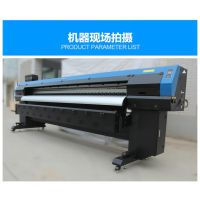 郑州普捷3.2米写真机价格 户外大幅面压电写真机 喷绘写真一体机