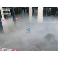 贵州售楼部喷雾景观雾效,售楼部水景喷雾,人造雾园林雾森锦胜雾森
