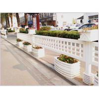 园林花箱厂家户外园艺市政工程家居办公室户外摆设绍兴万维PVC花箱