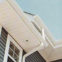 供应昆明蒂美PVC屋檐排水槽成品檐沟厂家