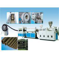 供应青岛凯力特牌pe碳素螺旋增强管材设备、碳素螺旋管生产线