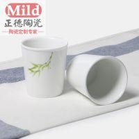 景德镇广告促销陶瓷小口杯定制可加logo 厂家批发