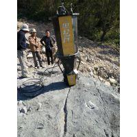 南平大理岩开采小型裂石机