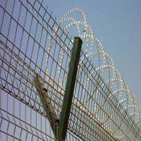 朋英生产销售 Y型监狱安全防护网 刀片刺绳防护护栏网