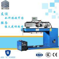 惠州市德力卷板自动对焊机 冷扎板直缝焊机 自动化工装