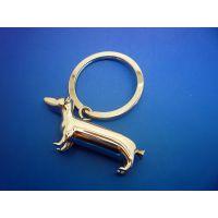 德宇厂家专业定做金属钥匙扣,卡通动物钥匙扣挂件