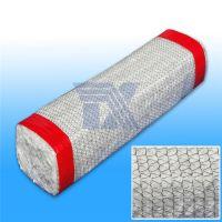 天兴 外编金属丝陶瓷纤维方编绳 硅酸铝方编绳 外编金属丝绳 金属丝盘根