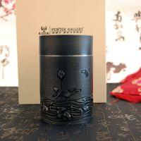 纯锡茶叶罐荷塘月色锡罐家用储茶送长辈高档商务礼品厂家直销定制