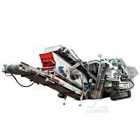 时产200吨履带式移动破碎机多少钱一套?