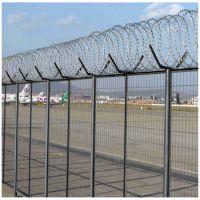 厂家供应 金属焊接监狱护栏网 抗氧化监狱围栏网 刀片刺绳网