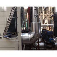 承包热水管道外保温施工 包棉管铁皮保温 不锈钢保温施工