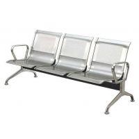 三人位不锈钢机场排椅,厂家直销简约款机场金属排椅不锈钢排椅