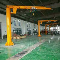单梁移动式悬臂吊机 BZD1吨立柱式悬臂吊 墙壁吊 小型电动提升机 澳尔新牌