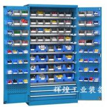 深圳 辉煌HH-249 双开门车间零件整理柜 带层板带抽屉五金工具柜