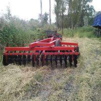 山东厂家促销耕作机械圆盘耙 山东厂家定做2.5米偏置牵引重型耙 全包轴承锰钢灭茬液压重耙