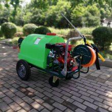 直销蔬菜基地喷雾器农用小型打药车汽油远射程喷药机旭阳大厂