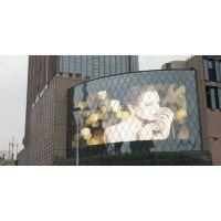 供应陕西玻璃LED幕墙透明屏
