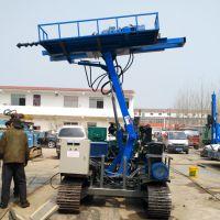山东履带式钻车-液压护坡锚杆钻机-彤昭机械液压钻机厂家