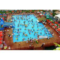 云南西双版纳大型支架水池游泳游玩一应俱全