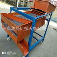 淮北小型家用粮食清选机 无尘环保自动粮食筛选机