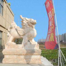 青石貔貅价格,石雕貔貅的风水作用和吉祥寓意,顺利石雕厂。