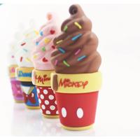 迪士尼(Disney)立体甜筒系列 甜心米妮 16G 创意卡通礼品U盘