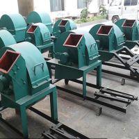 时产2-8吨废木头破碎机 多功能木材粉碎机 移动式双口木材粉碎机