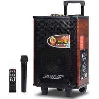 畅销的户外音响 木制拉杆音响 8英寸蓝牙音箱 排练便携式音响