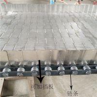 厂家直销304不锈钢链板式输送带 非标定制-宁津卓远
