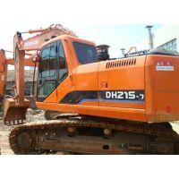 低价二手挖掘机 斗山220挖土机 二手现代210-7挖掘机