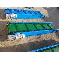 内蒙粮食运输皮带机 型号齐全爬坡防滑皮带机 输送机轮式高度可调