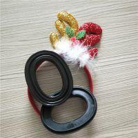 硅胶皮耳套 吸塑填充液体硅油皮耳罩吸音海绵
