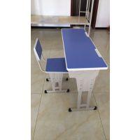 济南淄博学生课桌椅 学校单人课桌板式 可升降 厂家直销可定制