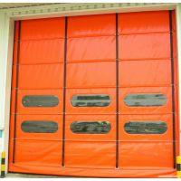 苏州佳恩门业厂家直销感应快速堆积门 自动快速卷帘门 带透视窗快速卷门