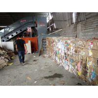 郑州宝泰机械新型专业废纸箱打包机二手转让厂家直销