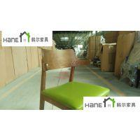 浦东康桥医药谷桌椅 公司休闲桌椅定制 实木餐厅家具工厂
