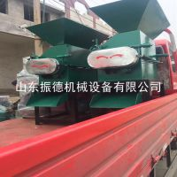 酒厂高粱加工专用大型高粱破碎机 电动花生米切碎机 立式轧碎机 振德牌