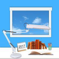 折叠灯管台灯创意学习护眼灯具 夹子款创意简约直播补光灯厂家直销
